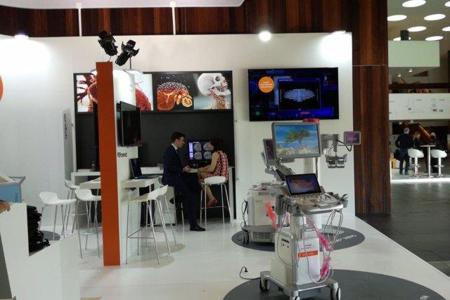 Stand de Siemens Healthineers en el 34 Congreso de la SERAM