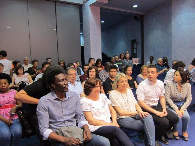 El PSOE Aragón ha celebrado esta tarde el Día de África