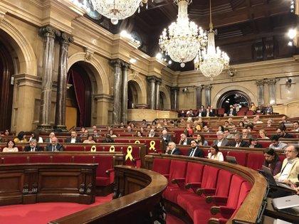 El Parlament celebra su primer pleno tras la investidura de Torra a la espera del nuevo Govern