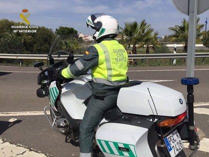 Muere un motorista de 29 años en un accidente en la A-66 a la altura de Salteras (Sevilla)