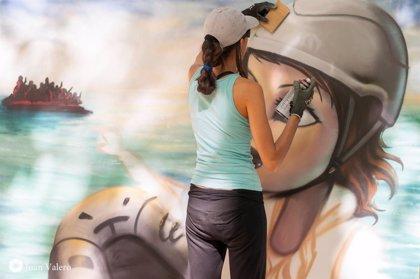 Grafiteros de toda España participan en la IV Exhibición de Grafiti de Cruz Roja Española en Albacete