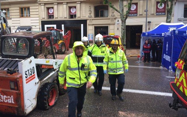 Hallan sin vida al segundo hombre desaparecido tras el derrumbe de la obra en el centro de Madrid