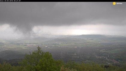 La tormenta de agua y granizo deja incidencias sobre todo en la comarca de Arnedo y Calahorra