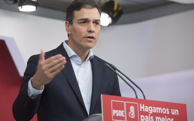 El PSOE registra en el Congrés la moció de censura contra Mariano Rajoy