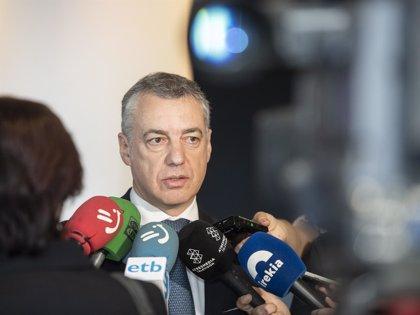 """Urkullu reclama a Rajoy explicaciones """"urgentes"""" tras la """"gravísima"""" condena del 'caso Gürtel'"""