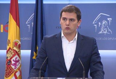 Cs exigeix eleccions a Rajoy o defensarà una moció instrumental per dissoldre les Cambres (Europa Press)