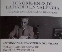 Poratda del libro sobre los orígenes de la radio valenciana