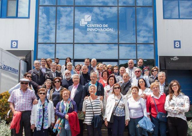 Miembros de Informacu Rioja visitan empresa proveedora de Mercadona