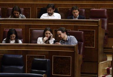 "Irene Montero (Podemos), sobre el xalet: ""No estem lliures de contradiccions"" (Europa Press)"