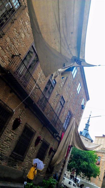 Ayuntamiento y Catedral repararán toldos del Corpus dañados por la tormenta