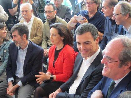 Todos los diputados del PSOE firman la moción de censura contra Mariano Rajoy