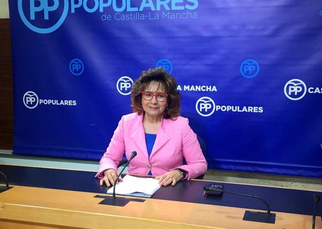 Pp Clm (Cortes De Voz Y Fotografía) Carmen Riolobos, En Rueda De Prensa 250518