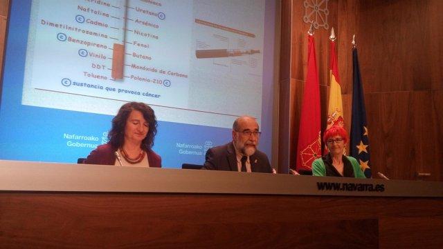 Fernando Domínguez presenta las medidas contra el tabaquismo
