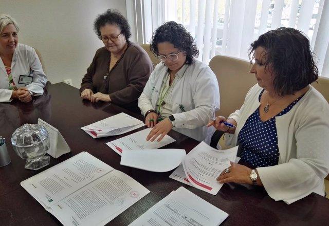 Acuerdo Hospital de Osuna y Cruz Roja