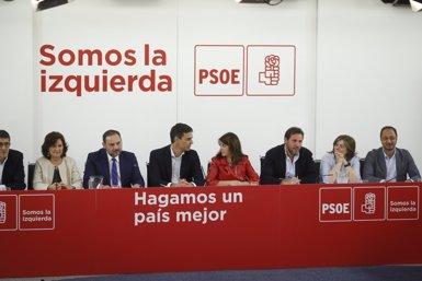 Sánchez demana el suport a tots els diputats, també dels independentistes, per a la seva moció contra Rajoy (EUROPA PRESS)