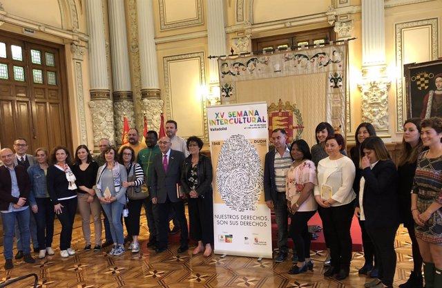Presentación de la XV Semana Intercultural, 25-5-18