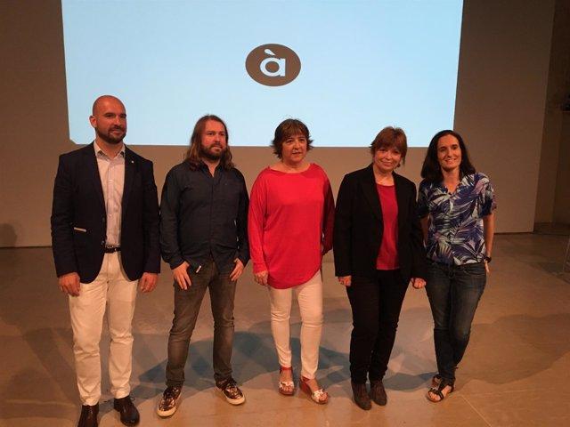 Presentación de la campaña de lanzamiento de la televisión de À Punt