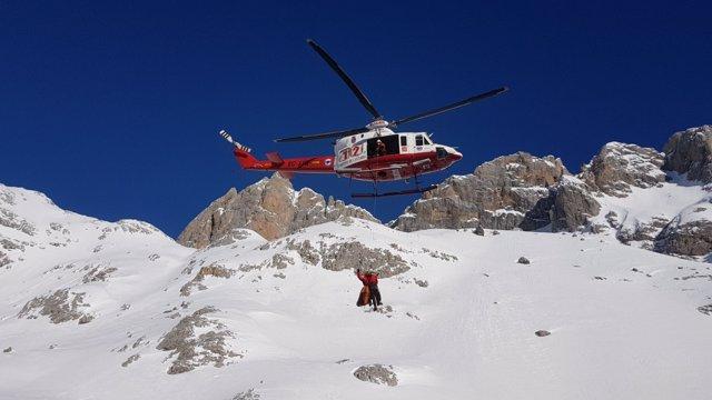 Helicóptero de rescate del Gobierno de Cantabria
