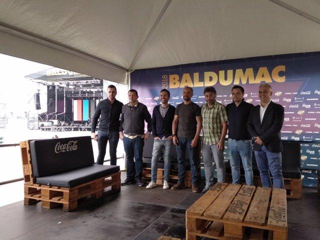 Presentación del festival Baldumac