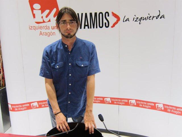 Portavoz De La Presidencia De IU-Aragón, Álvaro Sanz