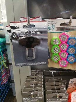 Consubal denuncia la venta de un dispositivo para no usar cinturón de seguridad