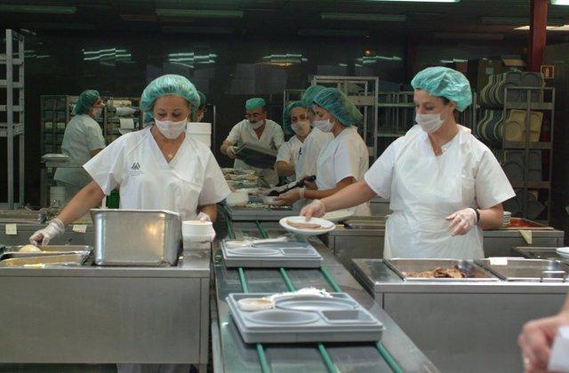 Cocina, hospital