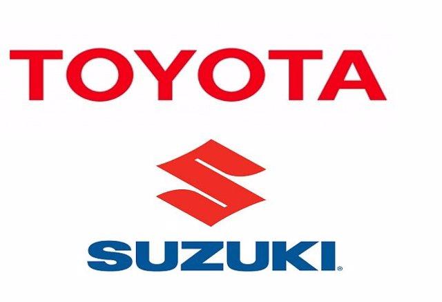 Logo Toyota y Suzuki