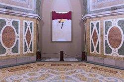El Parlament presta l'obra '7 de novembre' per a una exposició sobre Tàpies (PARLAMENT)