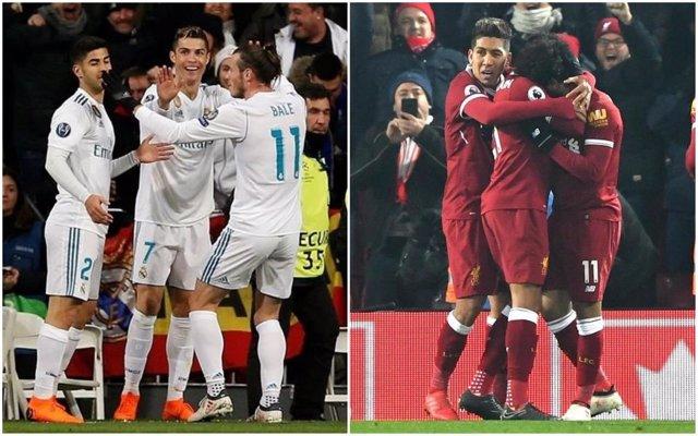 Real Madrid y Liverpool, rivales en la final de Champions