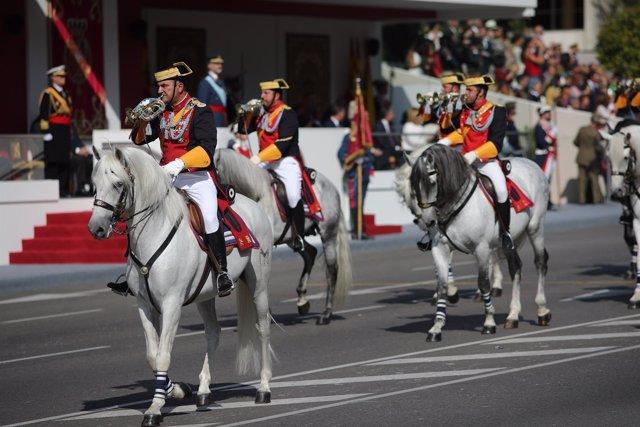Desfile militar del Día de la Hispanidad, el 12 de octubre