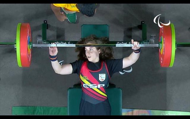 Loida Zabala, bronce en el Campeonato de Europa paralímpico