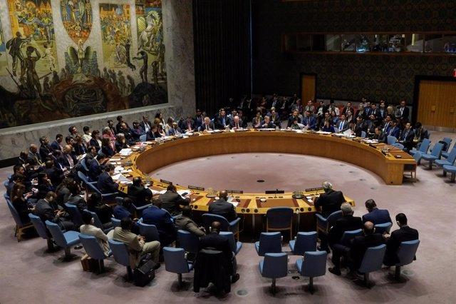 Consejo de Seguridad de la ONU reunido tras los bombardeos en Siria
