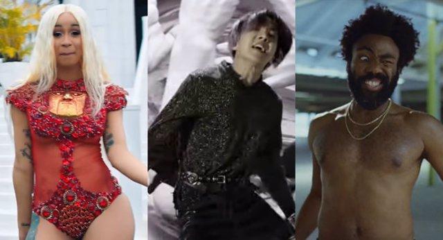 Cardi B, BTS y Childish Gambino