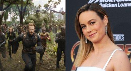 Brie Larson rodó Vengadores 4 antes que Capitana Marvel