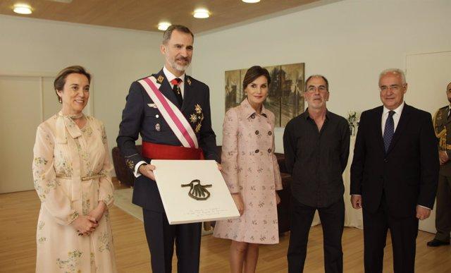 Los Reyes, en el Ayuntamiento de Logroño