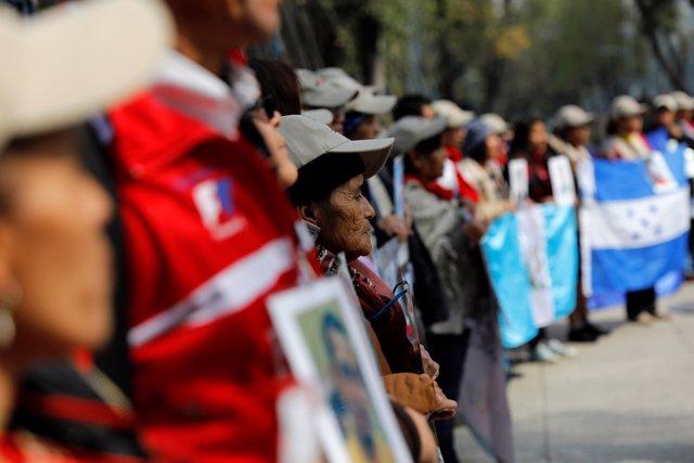 Caravana de madres de inmigrantes centroamericanos desaparecidos