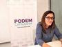 Conchi Abellán (Podem) afirma que con Domènech en el partido ya no se