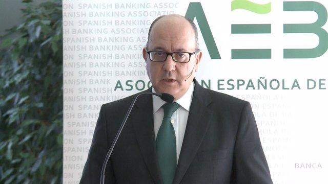 Osé María Roldán Declara En La Presentación De Los Resultados De La Banca