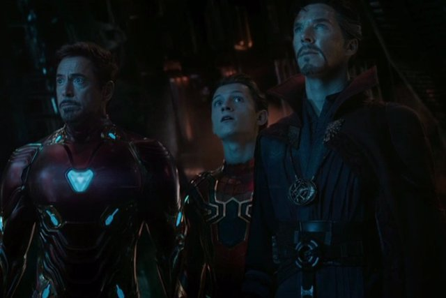 Iron Man, Spider-Man y Doctor Strange