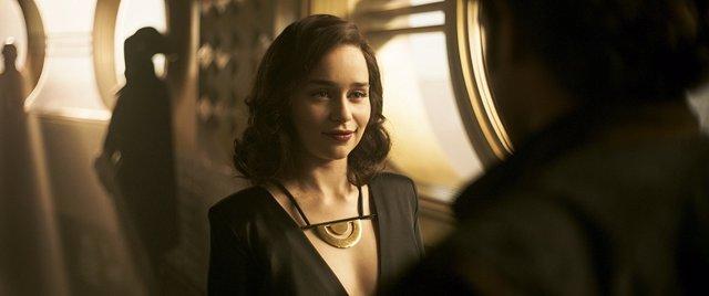 Emilia Clarke en Han Solo