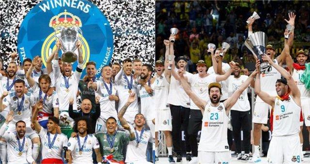 Real Madrid campeón Liga Campeones Champions Euroliga