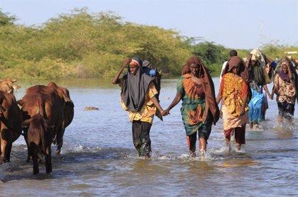 Al menos 21 muertos por las inundaciones causadas por el temporal en Somalia