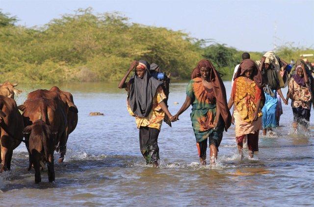 Inundación en Somalia