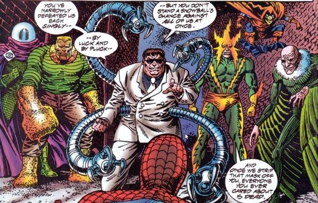 Los Seis Siniestros en Spider-Man