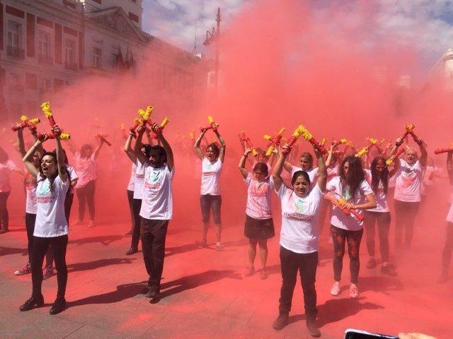 Manifestación Tauromaquia es Violencia en Madrid