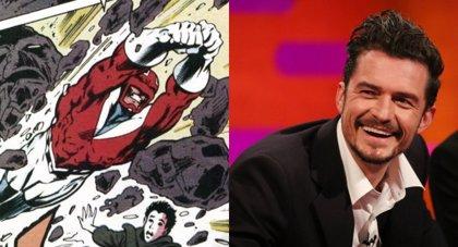 Orlando Bloom quiere ser el Capitán Britania en el Universo Marvel