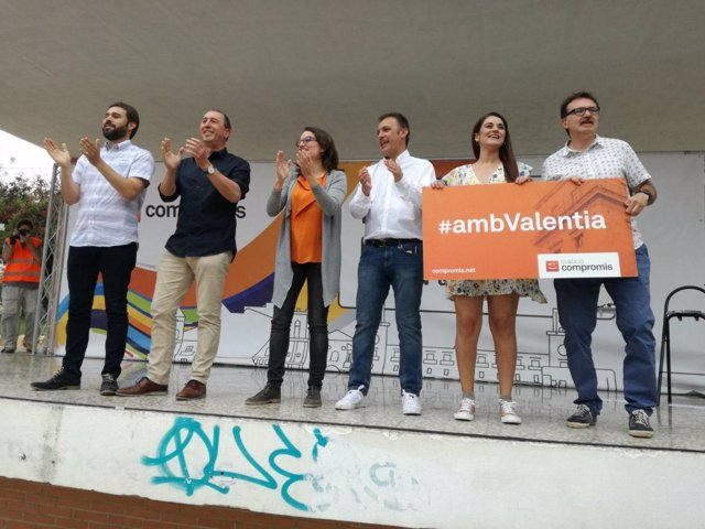 Acto de Compromís en Alicante