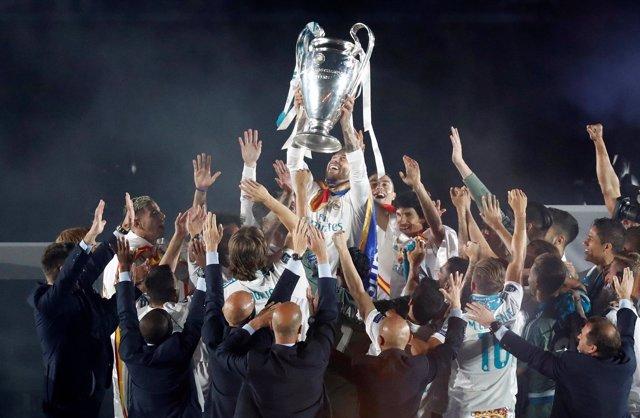 Real Madrid, fiesta en el Santiago Bernabéu