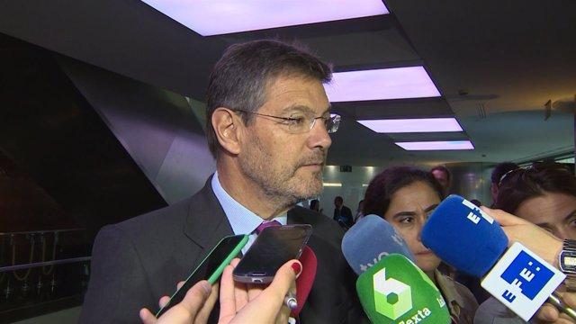 El ministro de Justicia, Rafael Catalá, en la jornada Insurence Europe