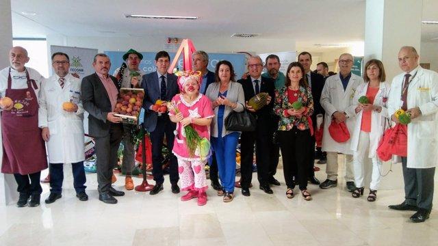 El consejero de Salud, Manuel Villegas, inauguró hoy en La Arrixaca
